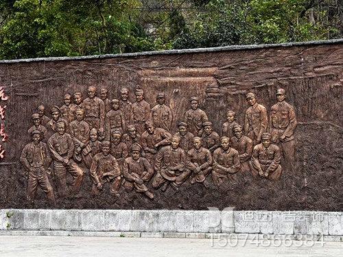 围墙浮雕-3